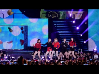 171014 KBS Friendship Supershow | Red Velvet - Red Flavor [Fancam]