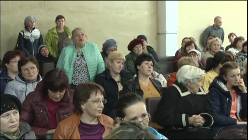 Непокорная Боровиха!Объединение школ в селе Боровиха вызвало возмущение сельчан