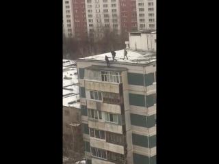 Придурки на крыше!