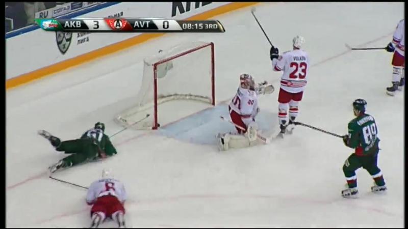 КХЛ.Сезон 2016/17.Ак Барс - Автомобилист 5-0. Обзор матча