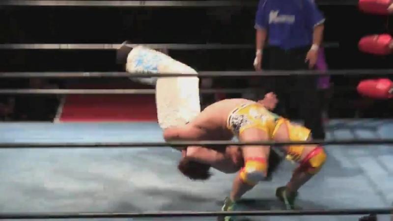 Daigoro Kashiwa, Shiori Asahi, Yasu Urano vs. GO Asakawa, Taishi Takizawa, Taylor Adams (K-DOJO - Tokyo Big Show)