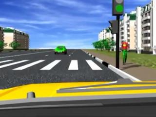 Пешеходные переходы и места остановок маршрутных тс