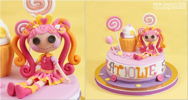 "Торт ""Лалалупси Сластёна"" cake"