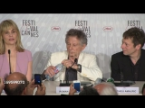 Roman Polanski and Emmanuelle Seigner at Venus In Fur Press Conference on May 25, 2013 in Cannes, France(1)