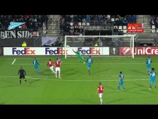 Лига Европы, групповой этап, 6-й тур. АЗ 3-2 Зенит