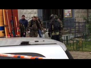 Взрывотехники вынесли взрывчатку из квартиры в Балашихе