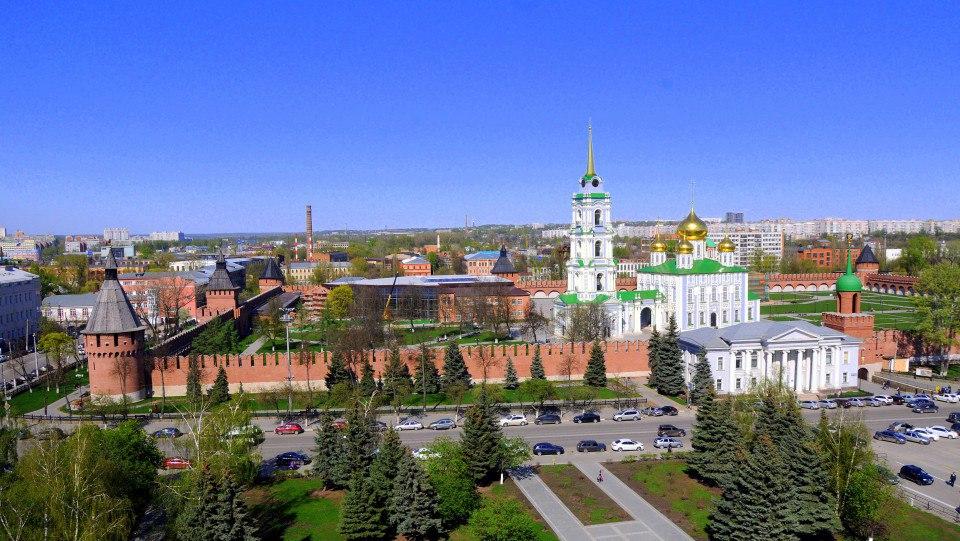 Тульский кремль — древнейшая крепость