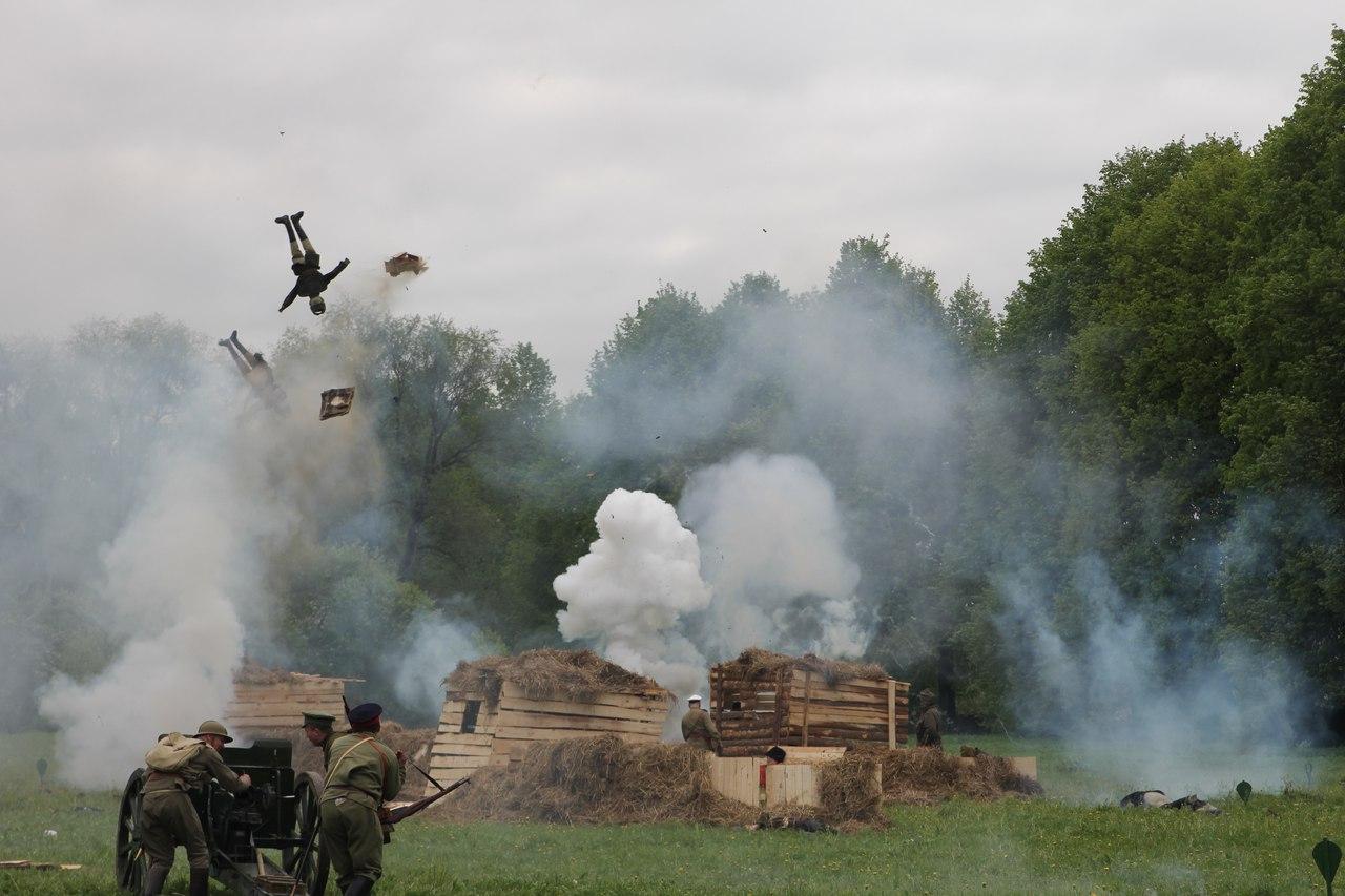 военно-исторический фестиваль «Там вдали, за рекой. 1917 — 1922»