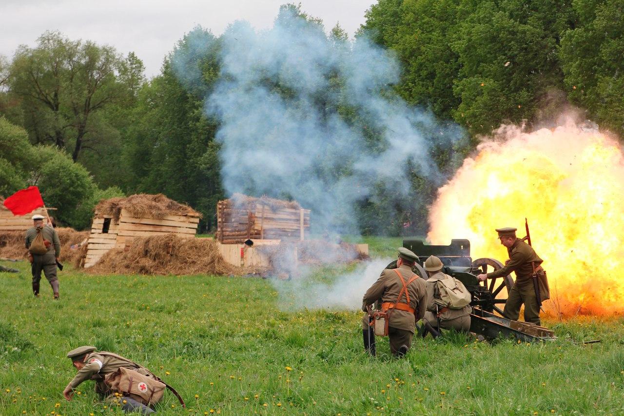 военно-исторический фестиваль под Калугой