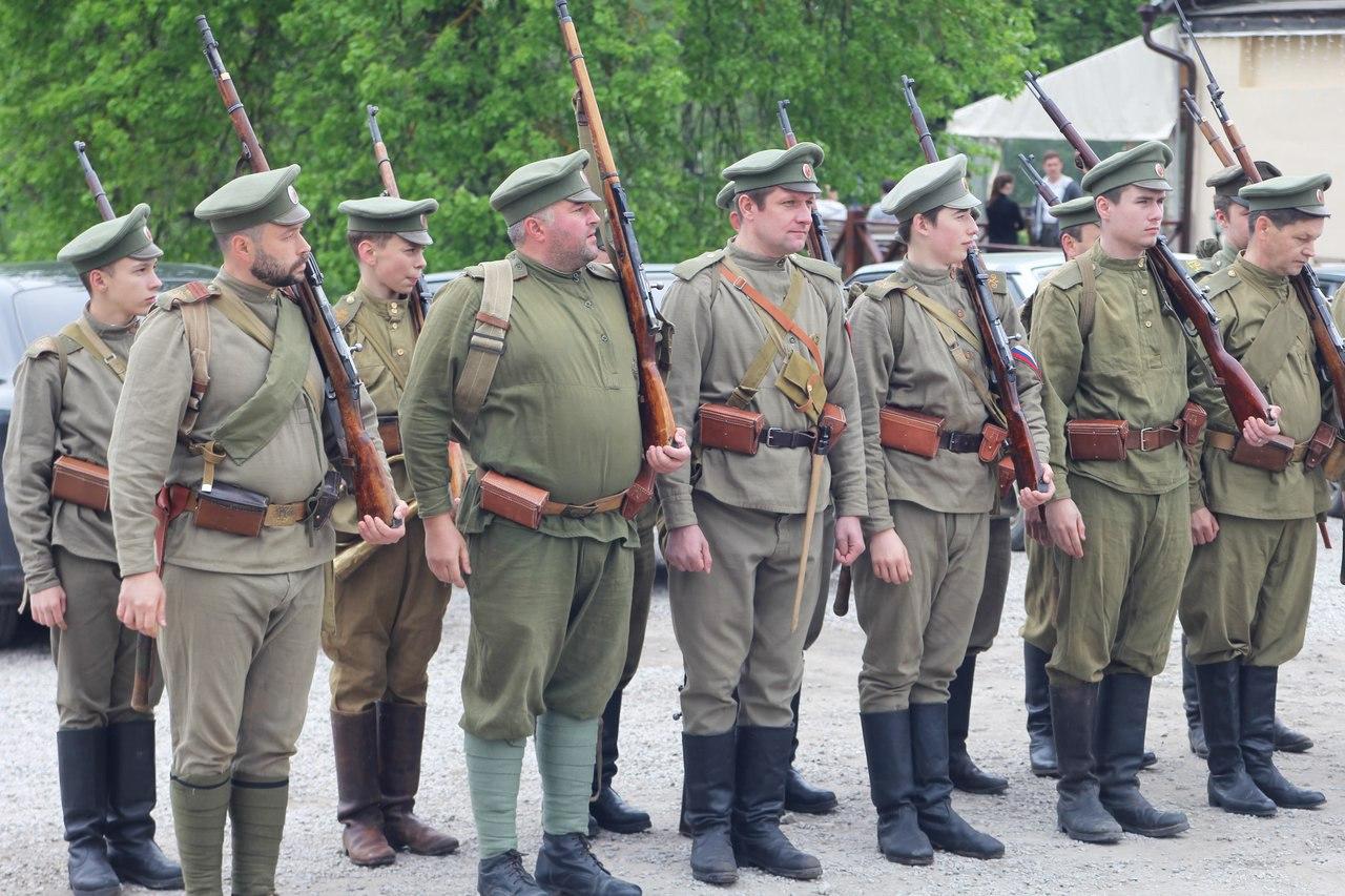 военно-исторический фестиваль в Полотняном заводе
