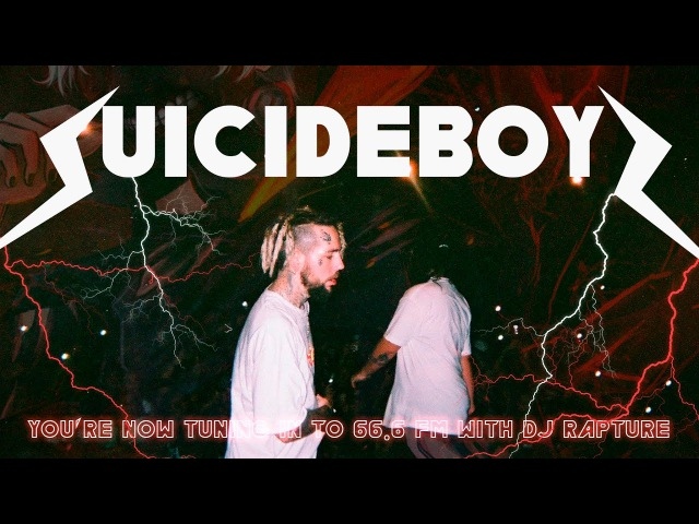 $UICIDEBOY$ - Youre Now Tuning in to 66.6 FM with DJ Rapture LIVE ПЕРЕВОД WITH RUSSIAN SUBS