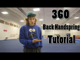 360 Back Handspring Tutorial - Bob Reese