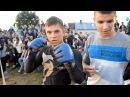 Школьник поломал футбольного фаната School student has beaten the football hooligan