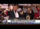 Pres Trump Recognised Gene Huber From News & Invited Him On Stage At Florida Rally Speech