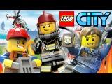 Мультик Лего Сити LEGO City Машинки, Полиция, Погоня - Все серии подряд. Мультфильм пр...