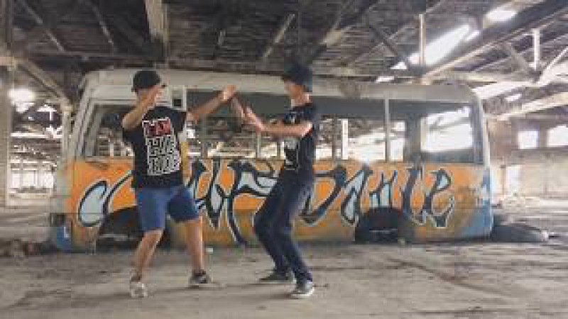 F SIDE CREW - Medet Sasha a.k.a Flyman - Freestyle hip-hop dance