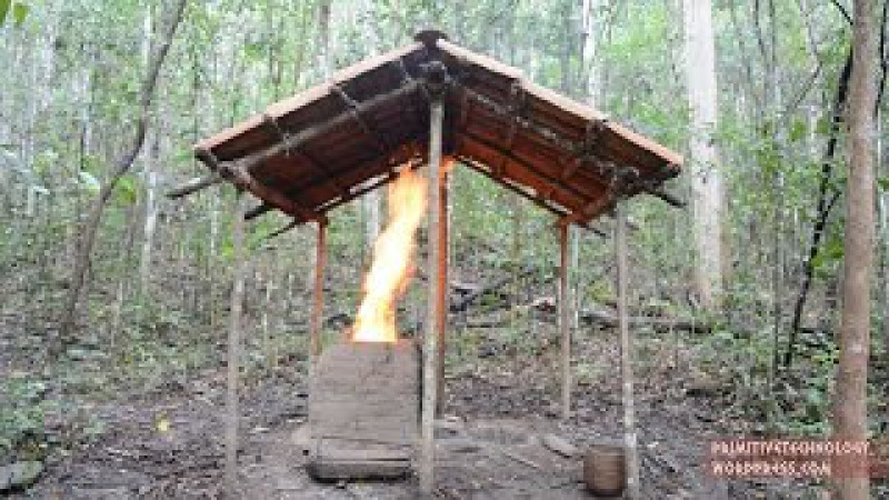 Primitive Technology Barrel Tiled Shed