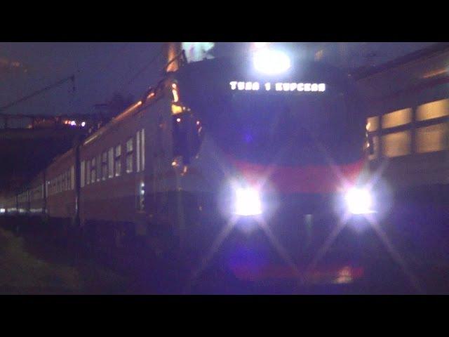Электропоезд ЭП2Д-0008 ЦППК №7049 Москва - Тула 1 Курская