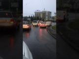 Чернвц злива 7. 06. 17. вул. Геров Майдану  Черновцы дождь