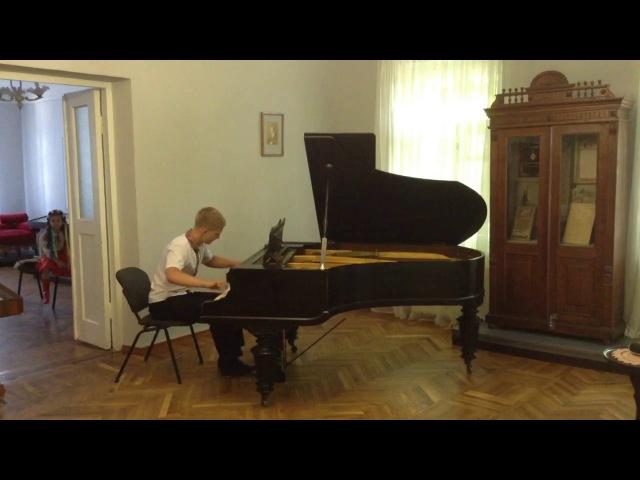 M. Sylvansksy - Two preludes (F dur, Fis moll) (O. Oliynik)