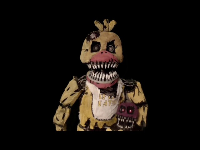 FNAF Nightmare Chica - Real Life Sized Model