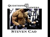 Q&ampA With Steven Cao  Tips for BulkingCutting  What Supplements to take  Advice for Teenagers