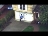 Man With Rifle In East Oakland Was Walking Around Spray-Painting Genitals On Neighbors' Property!