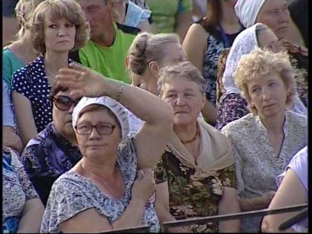 Арзамасские купола 2016 концерт Съемка ННТВ
