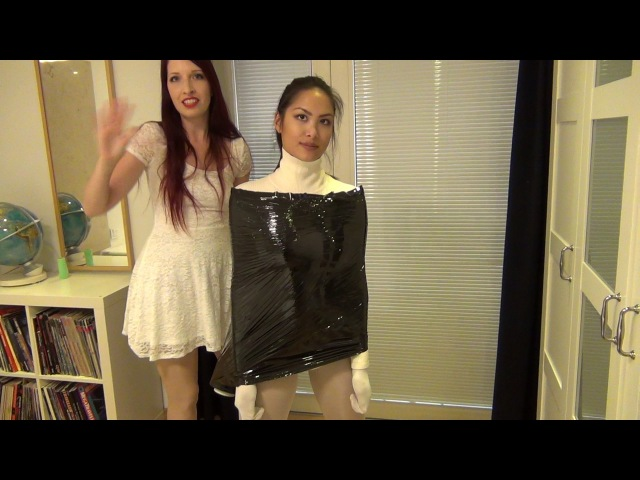 Renee's Bondage Workshop, Verpackungsfolie / industrial clingfilm - Episode 27