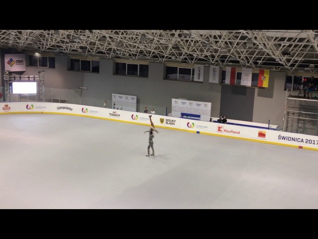 Luca Lucaroni Rebecca Tarlazzi, World Games 2017, Artistic roller skating, Pairs - Long program