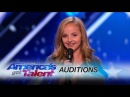 Evie Clair: Teen Performs Moving Song For Father Battling Cancer - America's Got Talent 2017