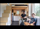 Watch The SHED Tiny House Being Built Before Your Eyes