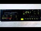 Vintage Kenwood KRC 999 am/fm cassette car stereo