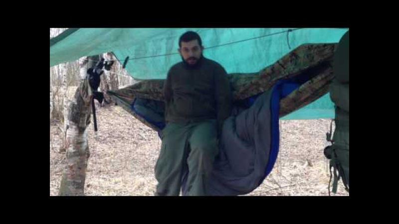 Гамак как замена палатки