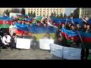 Акция протеста Азербайджанцев в Харькове-Стоп Войне! Стоп Оккупации Карабаха, Крыма и Донбасса