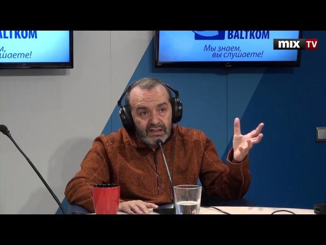 Российский писатель сатирик сценарист Виктор Шендерович в программе Встретились поговорили