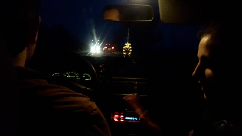 Артур Лина в дороге