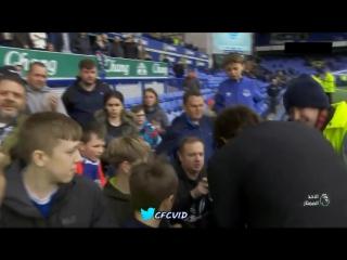 Конте благодарит болельщиков после матча