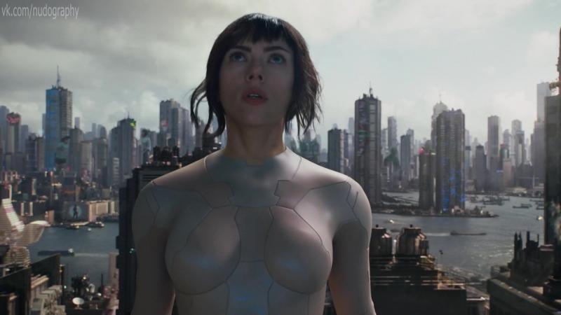 Скарлетт Йоханссон (Scarlett Johansson) в фильме Призрак в доспехах (Ghost in the Shell, 2017, Руперт Сандерс) 1080p