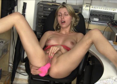 Ellen Pleasing Herself In The Office