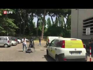 Взрыв в центре Рима