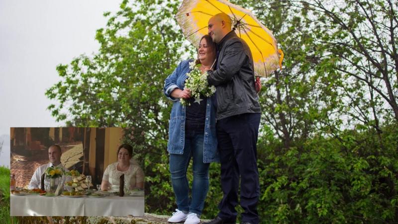Показ LiveФото(оживающая фотография) на свадьбе - реакция