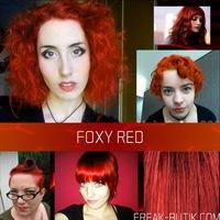 Оранжевая краска для волос