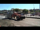 Трактор Беларус в исполнении грейдера