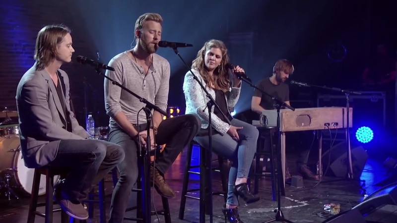 Lady Antebellum Josh Kear - Need You Now Live Front And Center