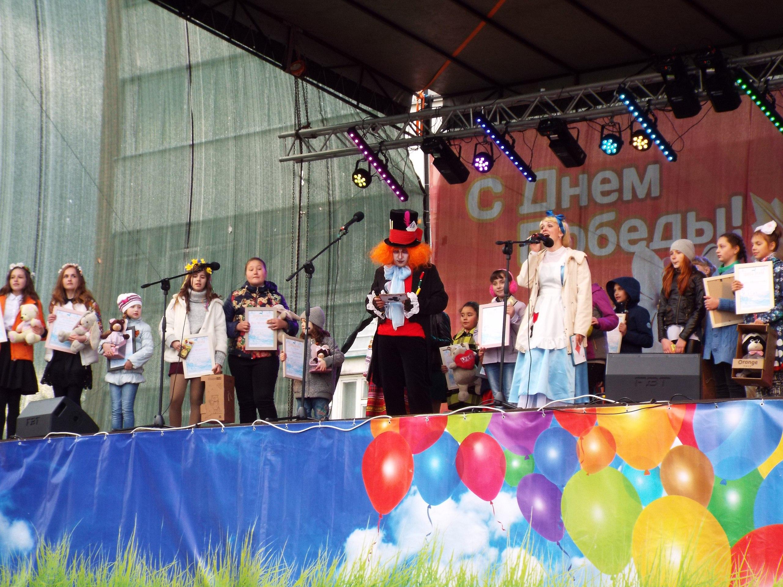 Гала-концерт фестиваля вокального творчества