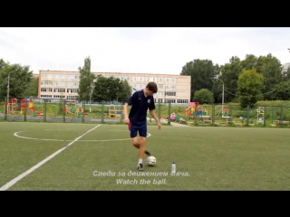 Side jumping _ Street football dribble tricks _ Финты уличного футбола