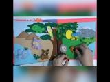 Развивающая книжка из фетра для Катюши