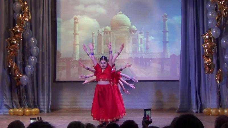 Индия от 2 класса. хореографШлёнская маленькиеталанты