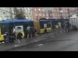 Киев, Лукьяновка. 22.07.2012. Драка футбольных фанатов.